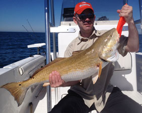 Angling Adventures Bull Redfish